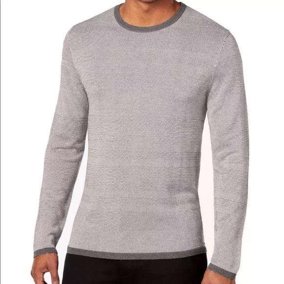 502c197afa Alfani Shirts | New Mens Silk Blend Textured Sweater Shirt | Poshmark